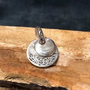 Jewelry - Reversible Sterling Silver Pendant